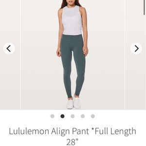 lululemon athletica Pants - Sold - lululemon align